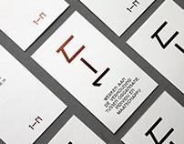 1-N typeface & identity