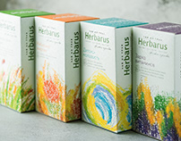 Herbarus herbal tea packaging