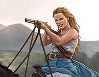 «Westworld« season 2 - Badass Dolores