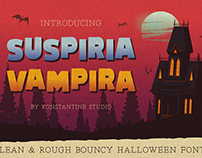 SUSPIRIA VAMPIRA - Bouncy Fonts