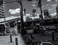 osaka city (early summer Monochrome)