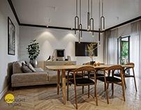 M_98 - residential interior visualizations | CGI