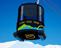 Big Sky Ski Resort Poster