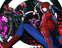 Into the Spiderverse Figures from Iron Studios