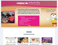 Página web Fundación Pediátrica Guatemalteca