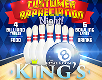 Event Flyer - King's, Orlando