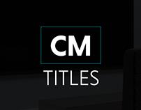 Charis Motion Titles