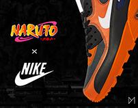 Sneakers NIKE x NARUTO Maxime D'ERAMO