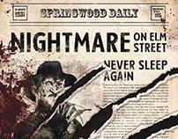 Poster   Freddy Krueger   A Nightmare on Elm Street