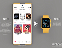 W-Iphone concept - iPhone like an extension of iWatch