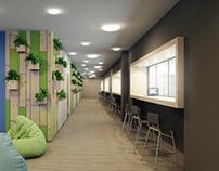 School in Kazan, interior design