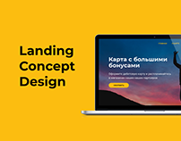 Landing concept design for bank