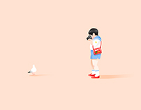 TINY FRIEND/SERIEL ILLUSTRATION