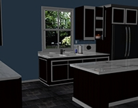 Maya- Set Design, Kitchen
