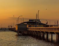 Fairhope Pier Sunset 9.27.17