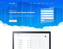 Domain & Hosting Company Web Template Design