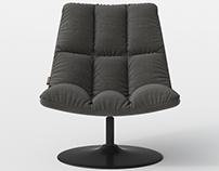 DUTCH BONE Bar Lounge Chair