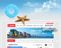 Justitur Website Design