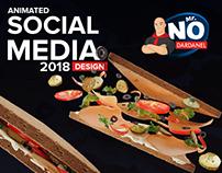 Mr.no Animated social media 2018