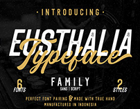 Eusthalia Typeface Family | Free Download