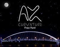 AX Curvature | Free Font