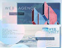 WEB UNITY - WEB UI/UX Design | ▲ 2018