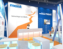 Maxit Booth Visualization for BBCO MesseManufaktur