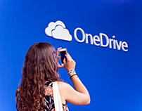 Onedrive stand @ Sónar 14