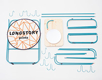 Mobile stand for Longstory Prints