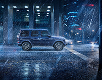 "Mercedes-Benz G-Class ""Blue Night"" Campaign & Brochure"