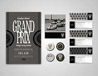 Canadian Historic Grand Prix Branding Concept