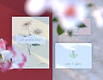 Floral Paper Free Mockup
