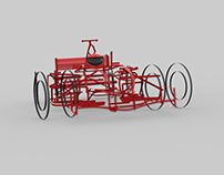 uMake Formula One Car : Rendered.