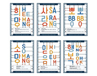 Korean Alphabet, Hangeul