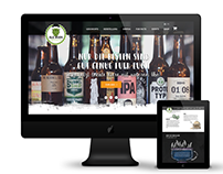 Craft Beer Website Design