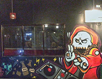 Gzone Bar Mural Project