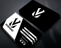 VictorMTavarez - Personal Brand & Business Card Design