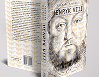 Book cover for Henry VIII biography, PIW 2015