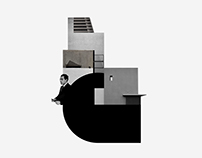 architectural collage collection