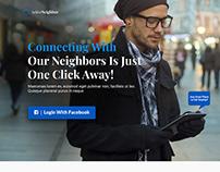 ActiveNeighbor Web App