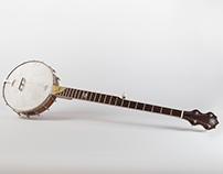 Custom Long Neck Expeditionary Banjo