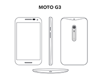 Moto G3 Wireframing