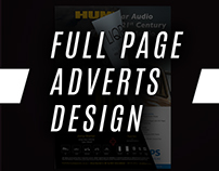 NZ Full page Ad Design