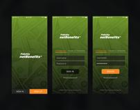daily ui 001 - Fidelity netBenefits redesign