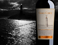 Etiqueta de vino Gran Corte Top