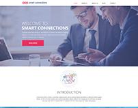 Smart connections website UI
