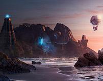 Sci-Fi/Fantasy Landscape
