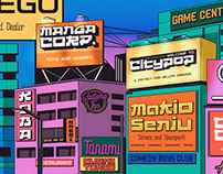 CITYPOP - Japanese 90s Retro Fonts