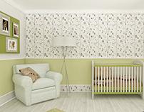 Teddy Hug - A Baby Boy Room Design