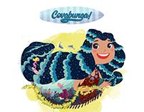 Cowabunga! Surf's Up